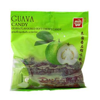 Жевательные конфеты с соком Гуавы, Mitmai, 110 гр