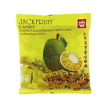 Жевательные конфеты с соком Джекфрута, Mitmai, 110 гр