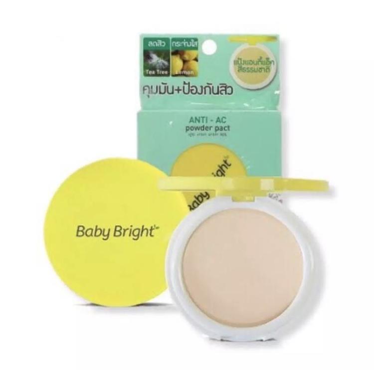 Пудра для проблемной кожи лица против Акне Anti-Ac, Baby Bright, 6 г