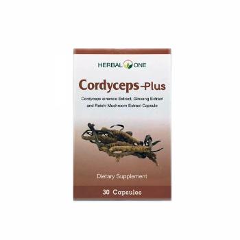 Капсулы Кордицепс, Cordyceps-Plus, Herbal One, 30 капсул