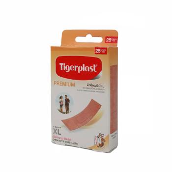 Высокоэластичный лейкопластырь, Tigerplast, 25 шт.
