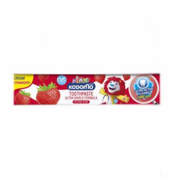 Гелевая зубная паста для детей со вкусом Клубники, Kodomo, 40 гр