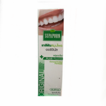 Концентрированная отбеливающая зубная паста, Supaporn, 30 гр