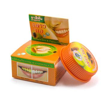 Зубная паста с экстрактом Папайи, 5star5A, 25 гр