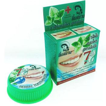 Зубная паста травяная Yim Siam, 25 гр