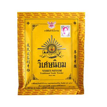 Зубной порошок Viset-Niyom Traditional, 40 гр