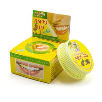 Зубная паста с экстрактом Ананаса, 25 гр