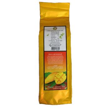 Зеленый чай с ароматами фруктов