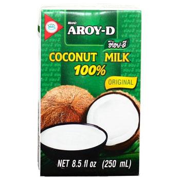 Кокосовое молоко, AROY-D, 250 мл/ 500 мл