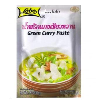 Зелёная паста карри, Lobo, 30 гр
