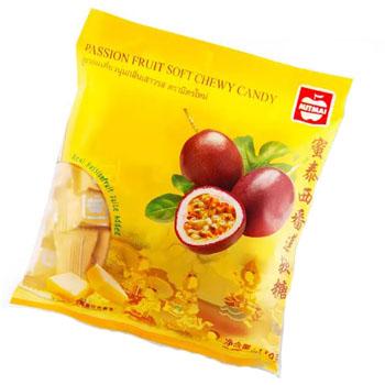 Жевательные конфеты с соком Маракуйя, Mitmai, 110 гр
