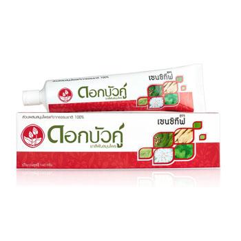 Травяная паста для чувствительных зубов, Twin Lotus, 90 гр/ 140 гр