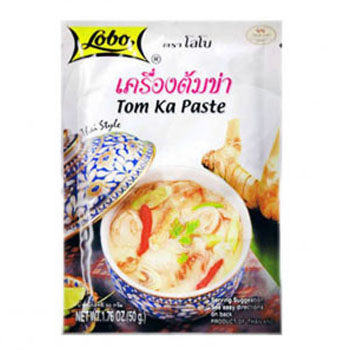 Паста Том Ка с кокосовым молоком, Lobo, 30 гр