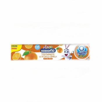 Гелевая зубная паста для детей со вкусом Апельсина, Kodomo, 40 гр