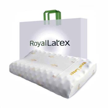 Латексная подушка с массажным эффектом, Royal Latex