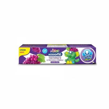 Гелевая зубная паста для детей с ароматом Винограда, Kodomo, 40 гр