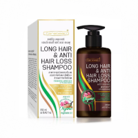 Шампунь для активации роста и против выпадения волос, Long Hair & Anti Hair Loss Shampoo, Carebeau, 250 мл