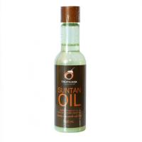 Кокосовое масло для загара на солнце Suntan Oil, Tropicana, 100 мл